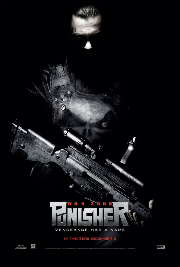 Punisher: War Zone (2008), a film directed by Lexi Alexander; based on the fictional Marvel Comics vigilante/anti-hero the Punisher. The film is a reboot that follows the original telling of Castle's war on crime and corruption rather than a sequel to 2004's The Punisher. Produced under the Marvel Studios/Marvel Knights which focuses on mature audiences.  Ray Stevenson replaced Thomas Jane as Castle. Castle wages a one-man war against a horribly disfigured mob boss known as Jigsaw Dominic…