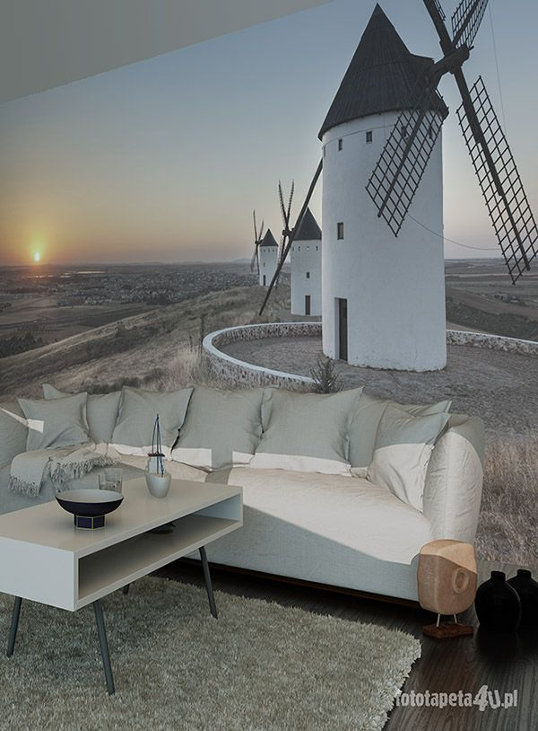 Windmill wallpaper by Fototapeta4u.pl