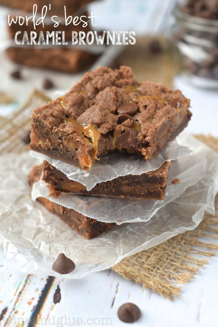 World's Best Caramel Brownies | These brownies are so good, they will quickly become a family favorite!