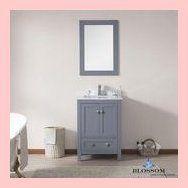 Blossom Bathroom Vanity 24 Inch Dubai Color Charcoal Grey