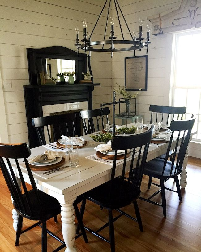 Get A Full Tour Of Chip And Joannas Vacation Home The Magnolia House On Twopeasandtheirpod HouseMagnolia FarmsFarmhouse Dining