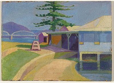 Roy DE MAISTRE, Colour sketch - Dangar Island