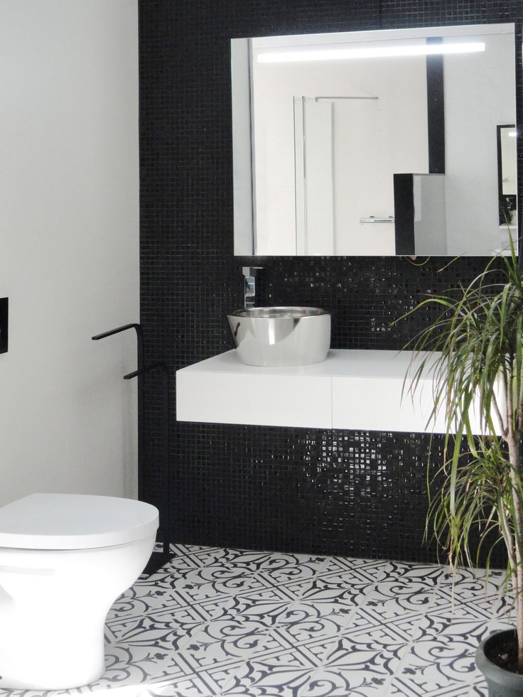 Décor Classic Noir + Fusion 99_ Ceramic Tiles from  Neocim and Mosaics Collection  by  KERION Ceramics
