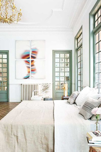 Soothing Tones. Painted Window FramesSoothing ColorsMid ...