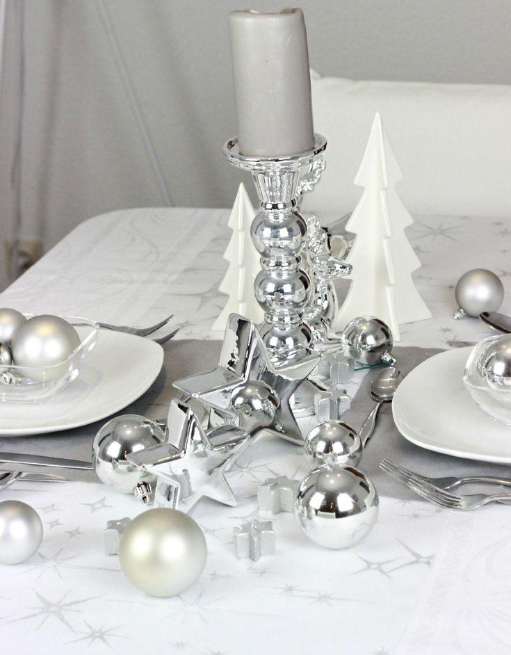 die besten 25 weihnachtliche tischdeko basteln ideen auf. Black Bedroom Furniture Sets. Home Design Ideas
