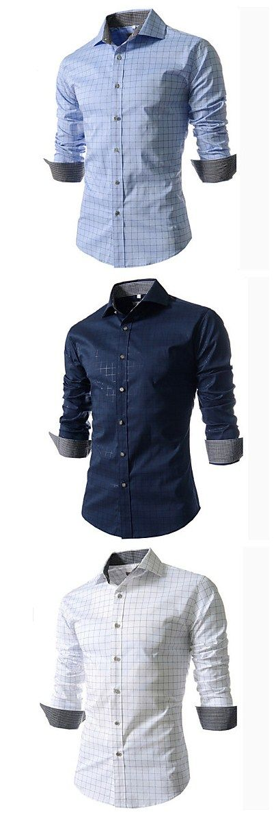 Refreshing Long Sleeves Men's Shirt, fall outfits ideas #backtoschool. Click to enjoy our Back-To-School Sales and get your secret coupon up to $50 until 31th Aug.