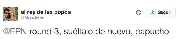 ¿Cómo nos vendría una trilogía?   Los tuits que le enviaron a EPN sobre la recaptura del Chapo son oro puro