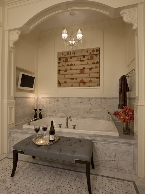 85 best crown molding for my palace images on pinterest for Bathroom alcove ideas