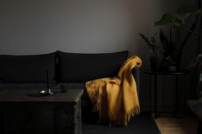SAAGA UNI mohair blanket