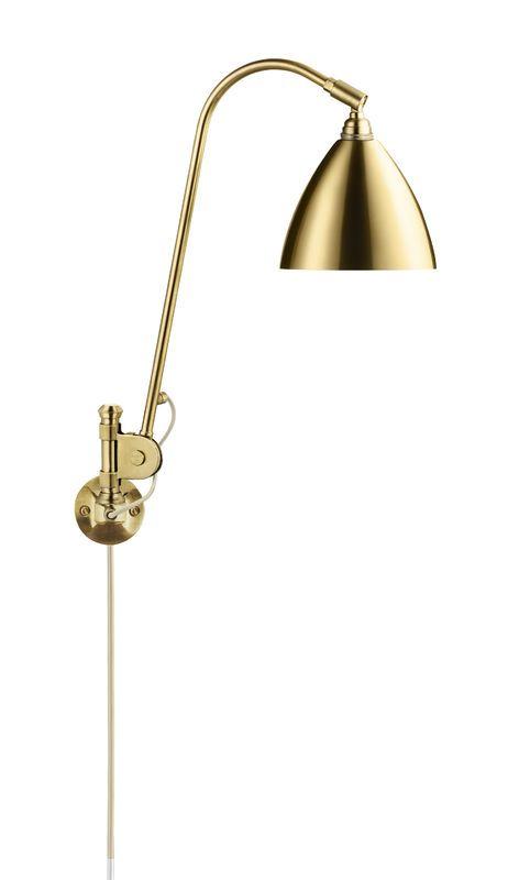 GUBI // Bestlite BL6 Wall Lamp in all brass