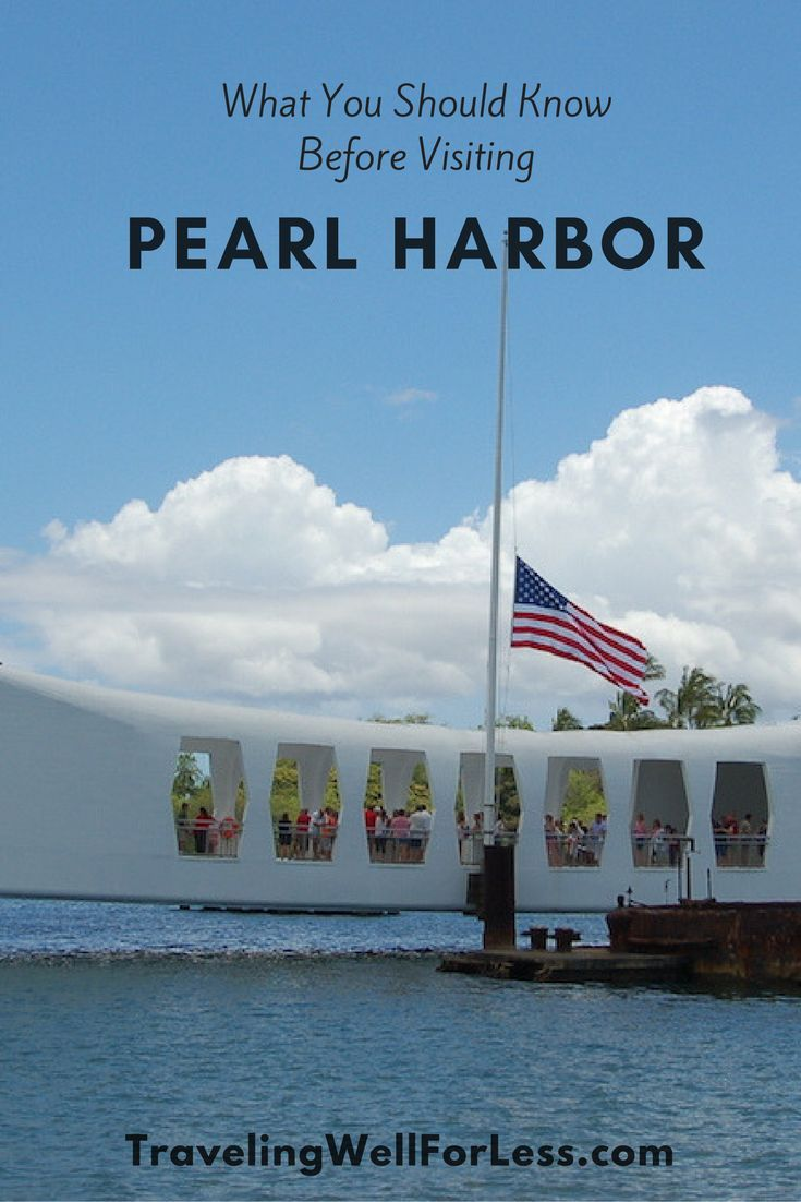 Planning a visit to the USS Arizona Memorial Pearl Harbor? These 7 tips will prepare you for what you should know before visiting Pearl Harbor. http://www.travelingwellforless.com