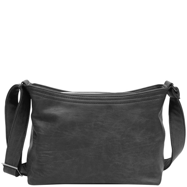 Soft Feel Carry - Black Leather Look - Catherine Manuell Design