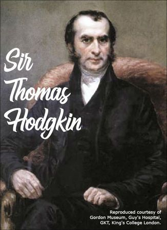Sir Thomas Hodgkin, the Namesake of Hodgkin's Disease  Our blog post