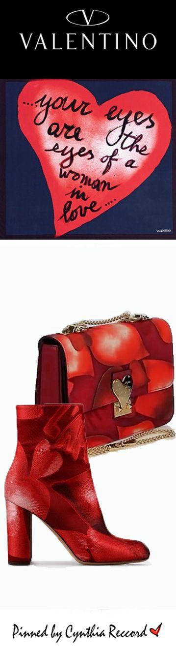 Valentino: L'Amour Capsule Collection in Collaboration with Pop Artist Giosetta Fioroni | PF 2015 | cynthia reccord