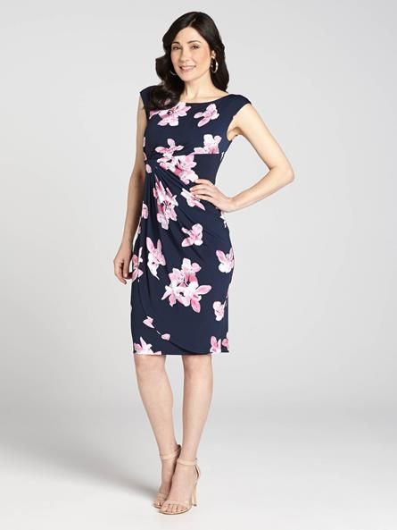 An oh-so-feminine look that feels Spring-like and magical. This dress is a bright and fun way to wear florals....3010101-8569