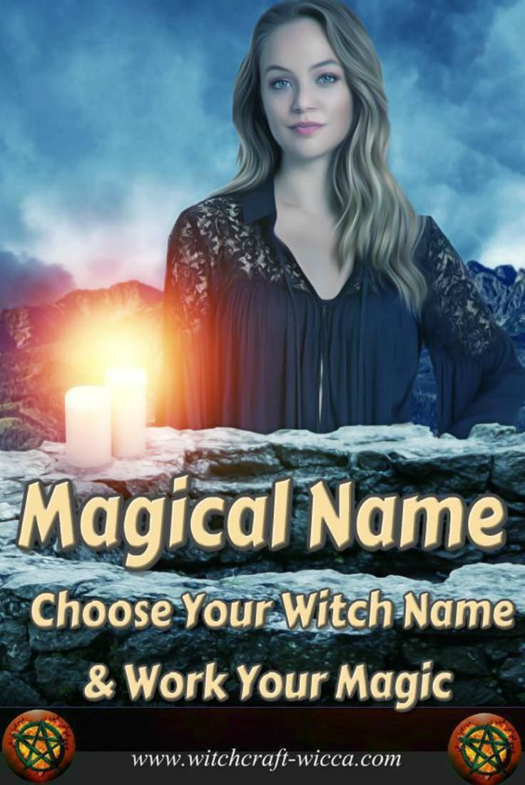 #Magical Name - Choose Your #Witch #Name & Work Your #Magic.The witch name is one of the least tangible, yet, the most important of all your tools. Choose the magical name that reflects your powerful, free, healthy and happy witch aspect. via @wicca_witchcraft