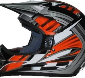Protectwear SC01-SO-XL Motorradhelm Motocrosshelm Endurohelm, schwarz / orange Promo Offer
