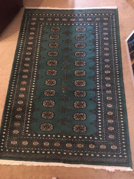 Green Persian carpet/rug -small | Rugs & Carpets | Gumtree Australia North Sydney Area - Cremorne Point | 1163255959