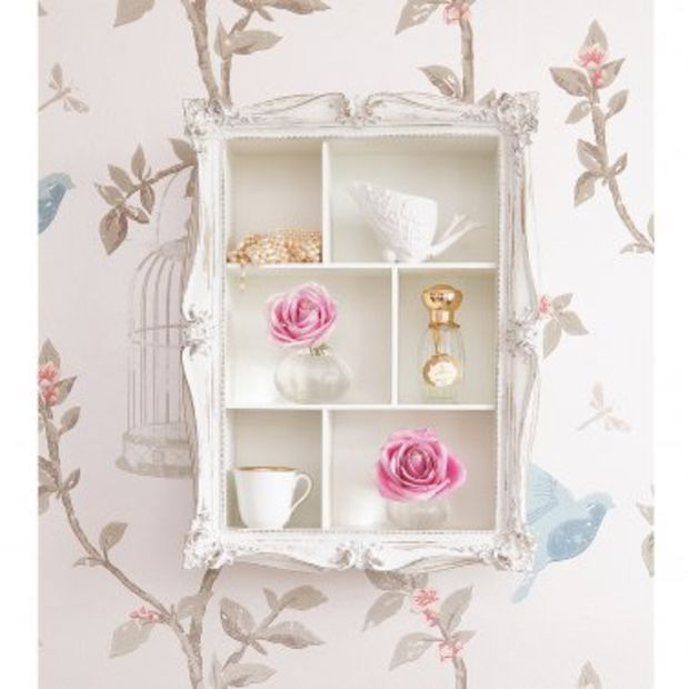 NEW! Arthouse Cluster Shelves in White