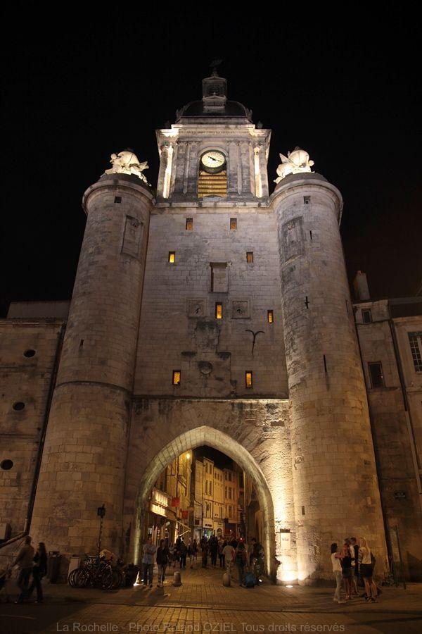 La Rochelle, Charente-Maritime,Poitou-Charentes, France. La Grosse Horloge