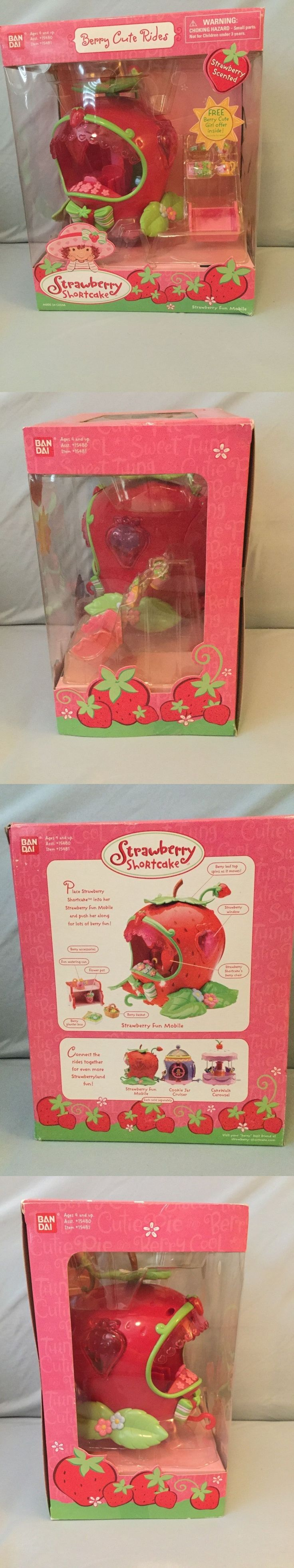 Strawberry Shortcake 146102: Strawberry Shortcake Berry Cute Rides Strawberry Fun Mobile Playset Bandai Toy -> BUY IT NOW ONLY: $38.99 on eBay!
