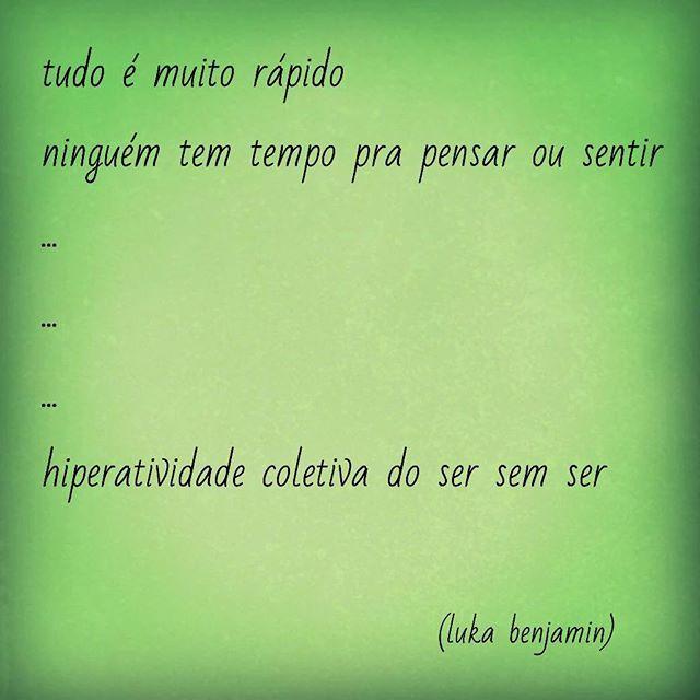 #ser #rapido #sentir #pensar