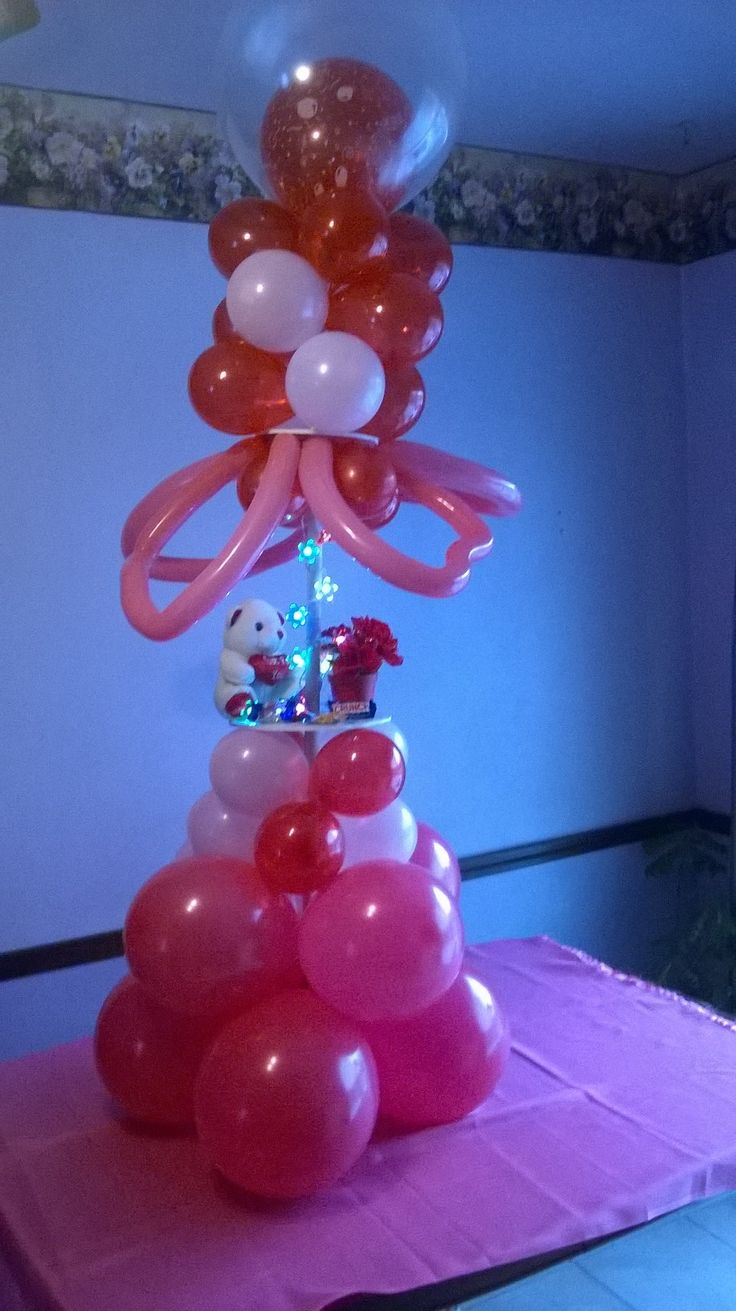 towers 13 best Valentine Balloon Decorations images