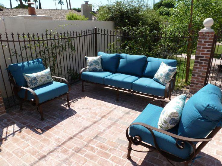 Attractive Sofa 2 Club Chairs · Phoenix ArizonaIron Patio ...