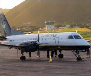 Seaborne Plane - St. Kitts Airport
