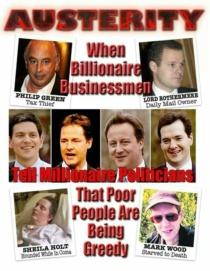 Austerity >> UK austerity - true everywhere in the world. Including the USA. | Politics | Pinterest ...