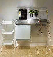Mini cuisine sunnersta et une plaque d 39 induction for Plaque aluminium cuisine ikea