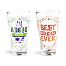 Bday Beer Glass. Birthday without beer is like birthday without cake, cause Beer is the new cake.