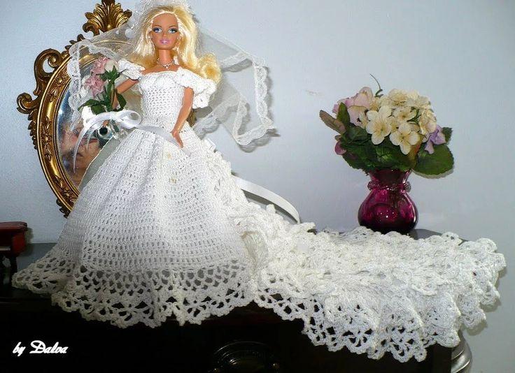 Mejores 97 imágenes de Barbie Robes de mariées :T . C . en Pinterest ...