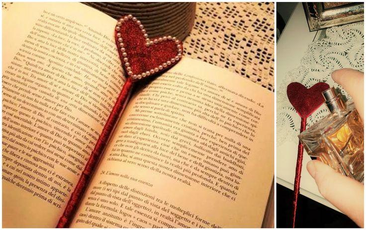 Segnalibro di San Valentino con elisir d'amore ~ KeVitaFarelamamma