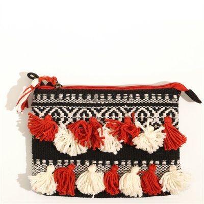 Pimkie.fr : On aime le style ethnique de la pochette en kilim. #pochette #pimkie 14,99€