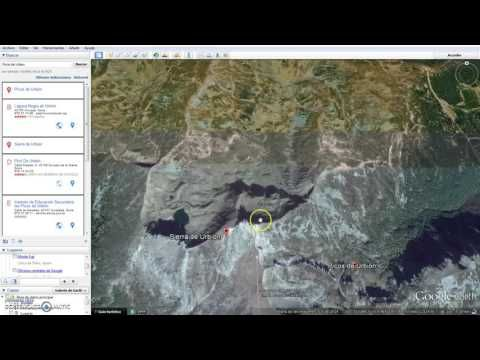 Aprendemos a localizar puntos y a medir distancias rectas con Google Earth