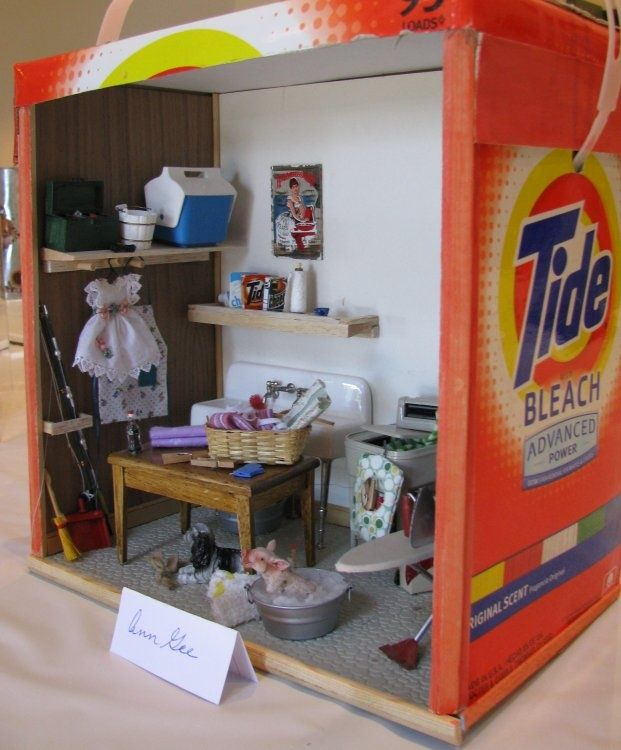 Miniature Children S Bedroom Room Box Diorama: 1000+ Images About Dollhouses/dioramas On Pinterest