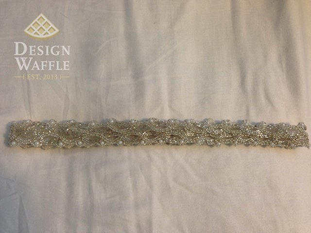 DIY Beaded Sash For Less Than 20 Definitely Doing Something Like This So The Maid And Matron