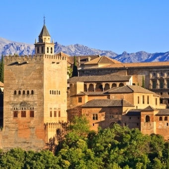 Congressman's Rehberg's EuroTrip also included a stop in scenic Spain.