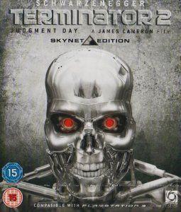Terminator 2 - Judgment Day Skynet Edition 1991 Blu-ray: Amazon.co.uk: Arnold Schwarzenegger, Linda Hamilton, Edward Furlong, James Cameron: DVD & Blu-ray