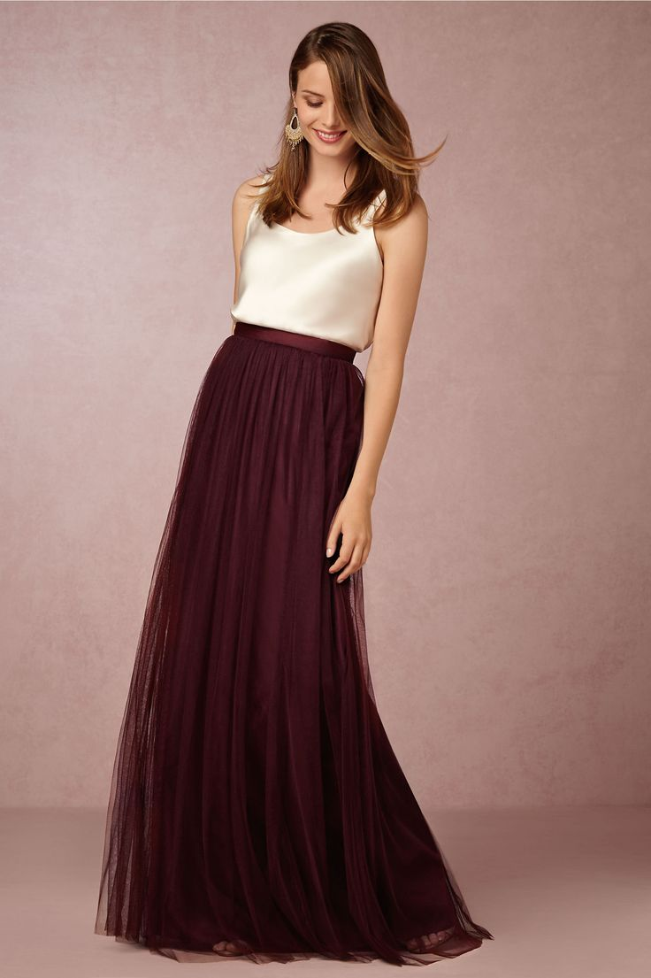 Louise Tulle Skirt in Bridesmaids View All Dresses at BHLDN   #StyleMePretty for #ohsoinspired15 http://www.bhldn.com/bridesmaids-view-all-dresses/louise-tulle-skirt-sea-glass/productoptionids/a2f715d9-461e-4f2c-80e4-2ee298782ceb