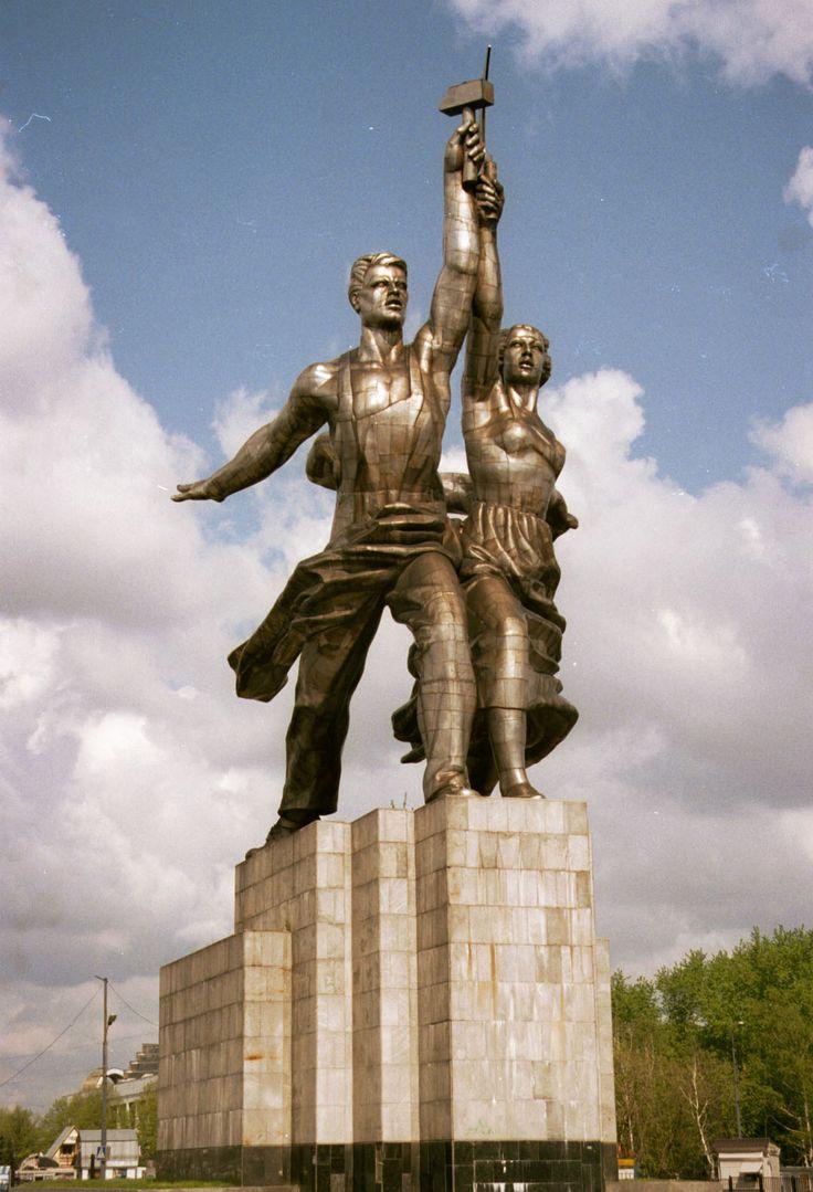 Вера Мухина. Рабочий и колхозница (1937)