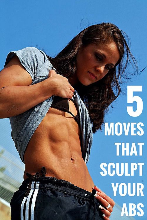 5 exercises that work your abs hard