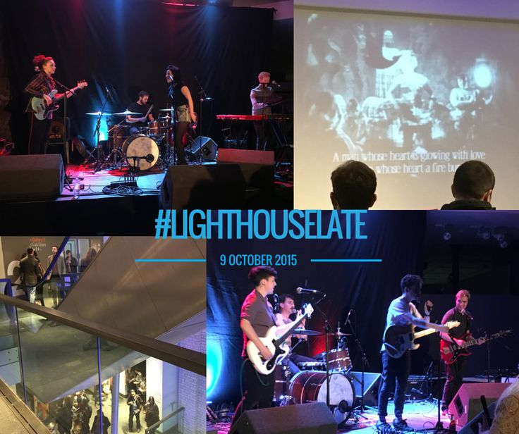 The Lighthouse Late #inGlasgow https://youtu.be/Kdxgt6tKiWg