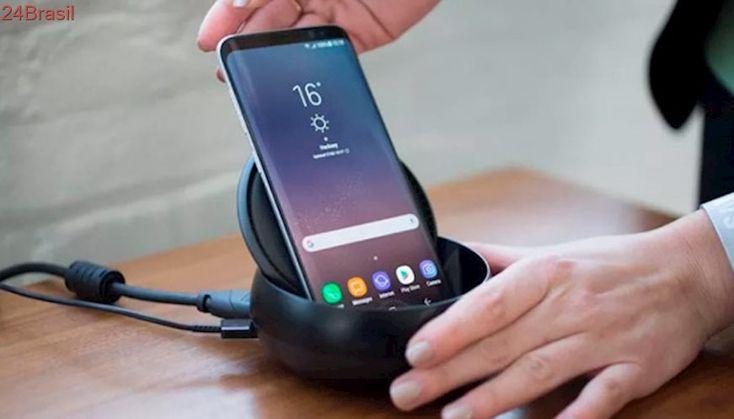 "Samsung cria marca registrada para ""DeX Pad"", acessório que pode chegar junto do Galaxy S9"