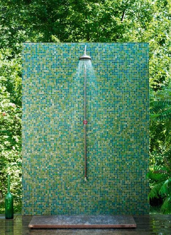 3 brands for great tile design ideas tile design ethnic for Outdoor shower floor ideas