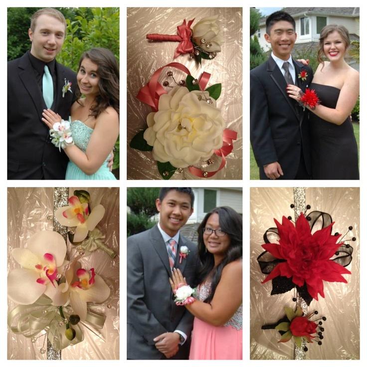 Stem School Prom: 30 Best Corsages Images On Pinterest