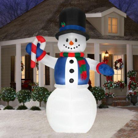 1000 images about christmas decor on pinterest candy for Airblown nutcracker holiday lawn decoration