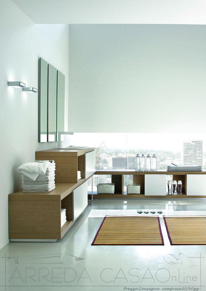 Più di 25 fantastiche idee su Arredo Bagno Bianco su Pinterest  Arredo piano da bagno ...