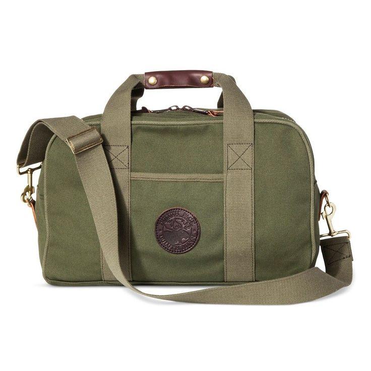 Duluth Pack Small Safari Duffel Bag - Olive Drab One Size, Green